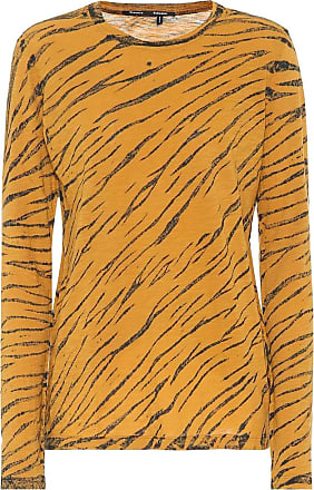 Proenza Schouler Animal-print cotton T-shirt