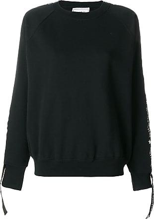 Forte Couture Blusa de moletom com logo - Preto