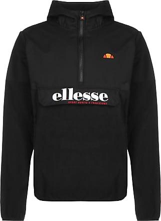 Ellesse Mens Esine Pullover Jacket, Black, L