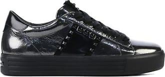 Kennel & Schmenger Dames Sneakers in Leder (Grijs)