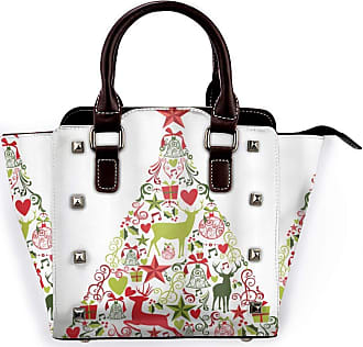 Browncin Merry Christmas Themed House Decor Popular New Year Ornaments And Star Tree Topper Detachable Fashion Trend Ladies Handbag Shoulder Bag Messenger Bags