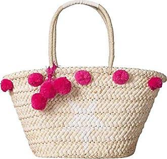 d9509608630ae QIYUN.Z Strohwebart Strandtaschen Frauenhandtaschen Beiläufige Wannenbeutel  Sommer-Schulterbeutel