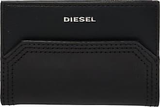 Diesel Branded Card Holder Womens Black