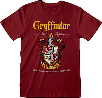 Harry Potter Gryffindor Crest Adults Red T-Shirt