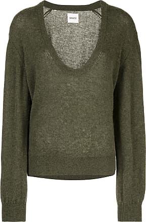 Khaite Suéter de cashmere decote em V - Verde