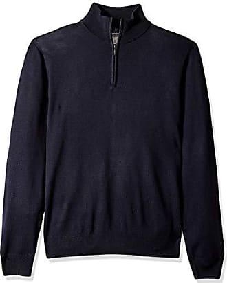 Nero MERAKI Maglione Cable Knit in Cotone con Girocollo Uomo Marchio Label: XL XL Black