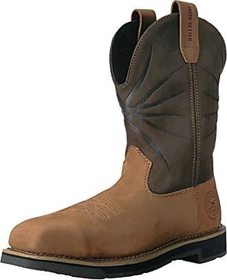 Irish Setter Work Mens Walker Safety Toe Western Boot Dark Brown 10.5 2E US