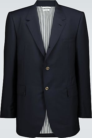 Thom Browne Single-breasted wool-mohair blazer
