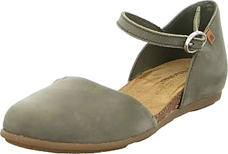 El Naturalista ND54 Stella Women Strappy Sandals,Sandal,Strappy Sandals,Summer Shoes,Comfortable,Flat,kaki,37 EU / 4 UK