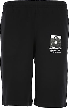 Off-white Shorts for Men On Sale, Black, Cotton, 2017, 30 32 34