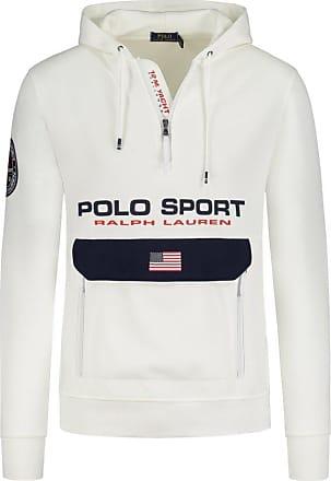 Polo Ralph Lauren Sweatshirt mit Logo-Applikation von Polo Ralph Lauren in Weiss für Herren