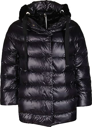 Herno Fashion Woman PI046DR120179300 Black Polyamide Down Jacket | Fall Winter 20