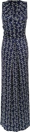 Tufi Duek Vestido longo drapeado - Azul