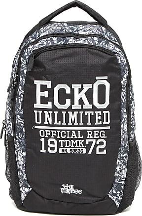 Ecko Mochila Ecko Official Cinza/Preta