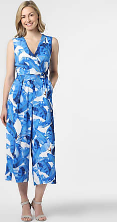 Comma Damen Jumpsuit blau