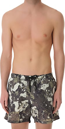 Marcelo Burlon Swim Shorts Trunks for Men On Sale, Military Green, polyamide, 2019, XS (EU 44) S (EU 46) M (EU 48) L (EU 50)
