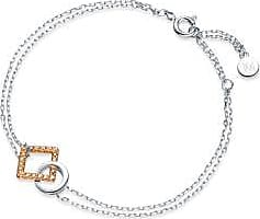 Emphasis Form18K White & Red Gold Brown Diamond Bracelet