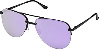 Quay Eyeware Quay x JLo The Playa (Black/Purple) Fashion Sunglasses