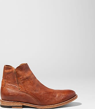 Two24 Mens Lockwood Boot in Cognac Leather, D Medium Width, Size 10, by Two24