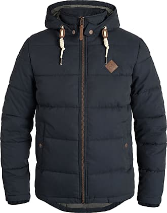 Solid Dry Jacket Mens Winter Jacket, Size:XL, Colour:Insignia Blue (1991)