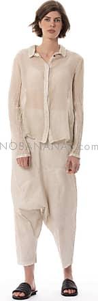Rundholz langärmlige Bluse aus Seidenmix 1202220402