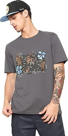 Globe Camiseta Globe Makatza Cinza