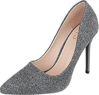 03d0be69dc3a0a Ital-Design High Heel Damen-Schuhe Plateau Pfennig- Stilettoabsatz High  Heels Pumps