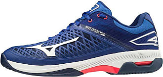 Mizuno Wave Exceed Tour 4 AC Tennis Shoe, Reflexblue/Wht/Diva Pink