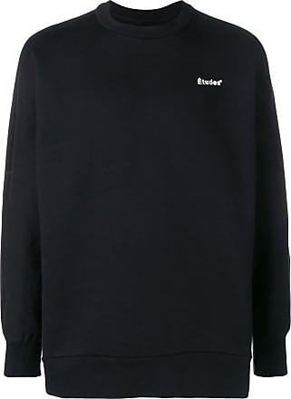 Études Studio logo long-sleeve sweater - Black
