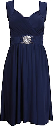 Purple Hanger Womens Cocktail Casual Dress Eu 44/46 Bleu Marine