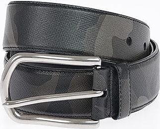 Prada Leather Camouflage Belt 35mm size 85