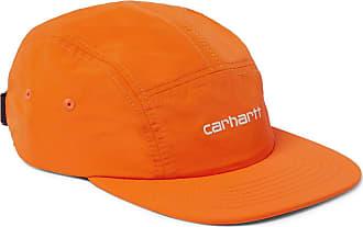 Carhartt Work in Progress Logo-embroidered Nylon Baseball Cap - Orange