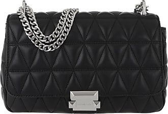 Michael Kors Cross Body Bags - Sloan Large Chain Shoulder Bag Black - black - Cross Body Bags for ladies