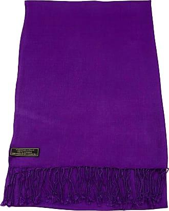 CJ Apparel Mauve Solid Colour Design Nepalese Shawl Seconds Scarf Wrap Stole Throw Pashmina Pashminas NEW