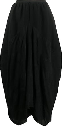 Uma Wang drape design skirt - Black