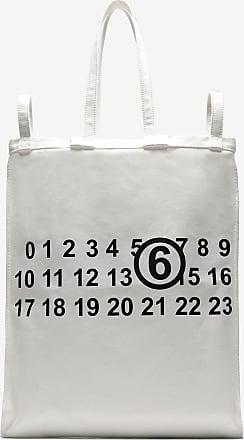 Maison Margiela Tasche Mit Sechs Griffen Und Logo