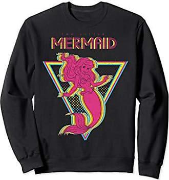 Disney Little Mermaid Ariel Retro Neon Triangle Sweatshirt