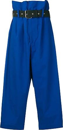 Plan C Calça cintura alta - Azul