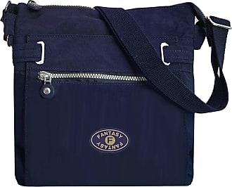GFM Womens Nylon Waterproof Cross Body Shoulder Bag (JY)(19101-S3-GHNL)