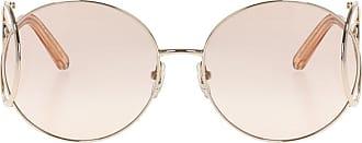 Chloé CE124 Sunglasses Womens Beige
