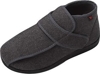 Insun Unisex Extra Wide Width Slippers Orthopedic Footwear Green 10.5 UK Wide Women/11 UK Wide Men