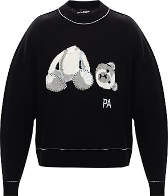 Palm Angels Logo Sweater Mens Black
