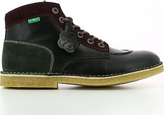 Kickers Mens Kick Legend Ankle Boot, Camel Marron Bordeaux, 11.5 UK