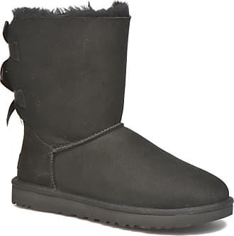 UGG W Bailey Bow II - Stiefeletten   Boots für Damen   schwarz e20af4f658