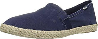 Keds Womens Chillax A-line Jute Seasonal Solid Fashion Sneaker, Navy, 5 M US