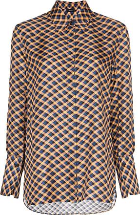 Joseph Mason checked silk shirt - Multicolour