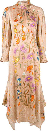 Peter Pilotto Vestido com bordado floral - Estampado