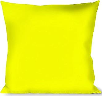Buckle Down Pillow Decorative Throw Neon Yellow