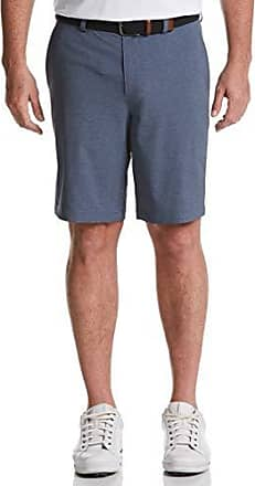 PGA TOUR Short court à devant plat pour hommes, Denim Heather, 30