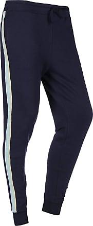 Lyle /& Scott Men/'s Side Stripe Skinny Joggers Blue